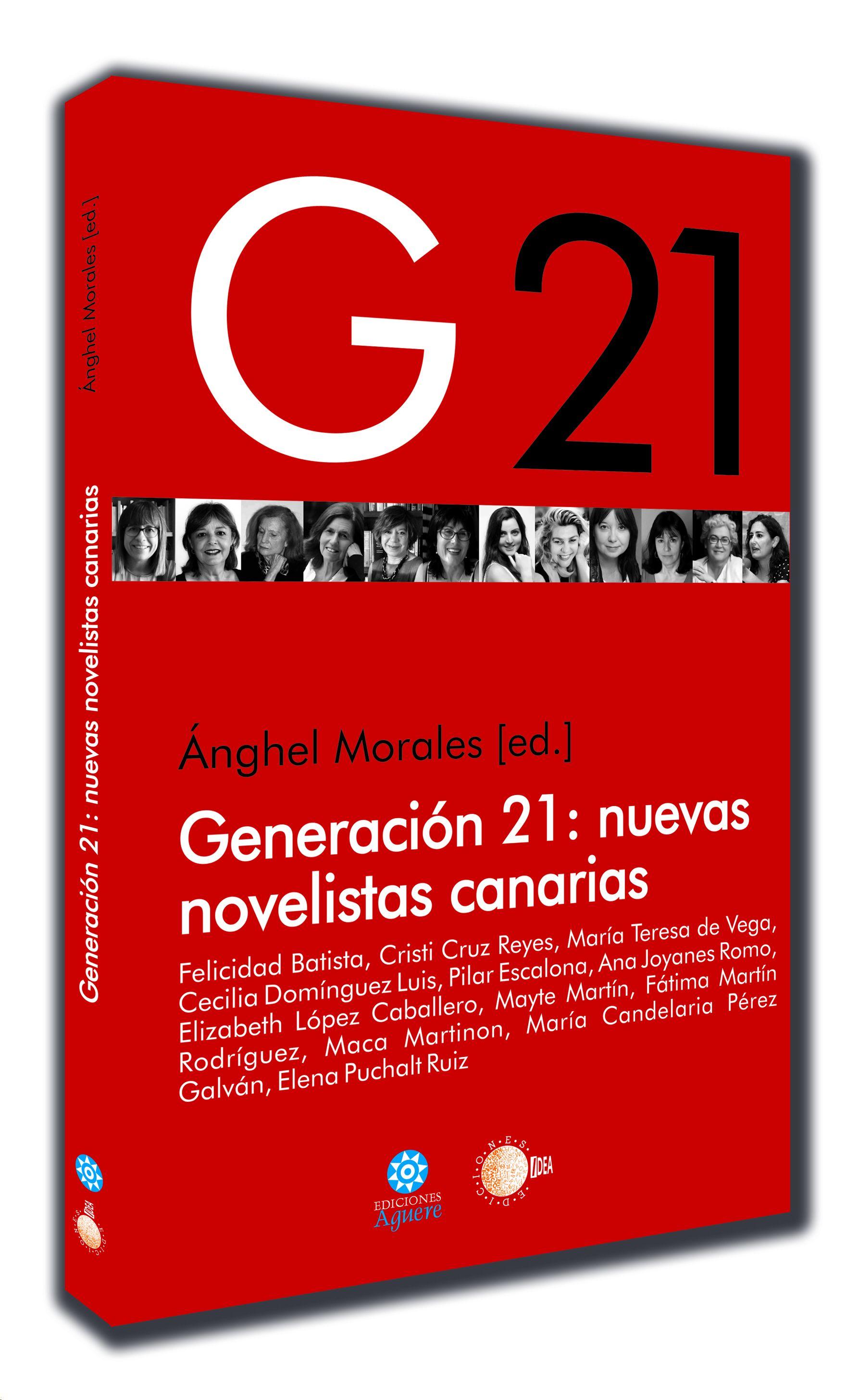 Portada del libro Generación 21 nuevas novelistas canarias