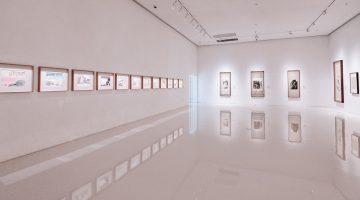 foto genérica de galería de arte