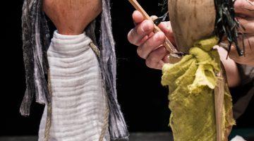 Orfeo y Euridice pétalos